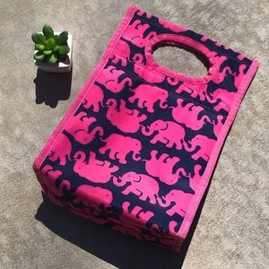 Lilly Pulitzer Tusk In Sun Lunch Tote